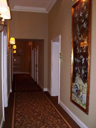 Grand Hotel Casselbergh Bruges: pasillos