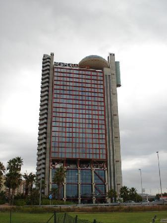 hesperia tower, near metro station