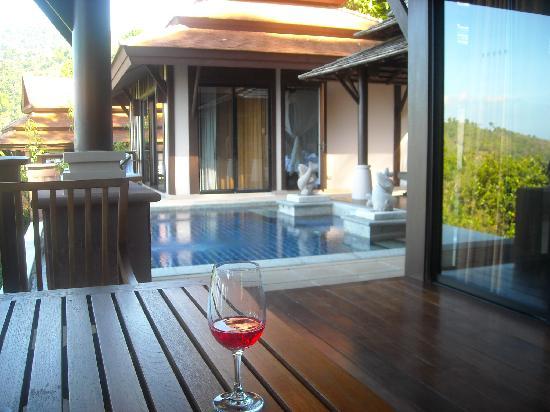 พิมาลัย รีสอร์ท แอนด์ สปา: Private pool