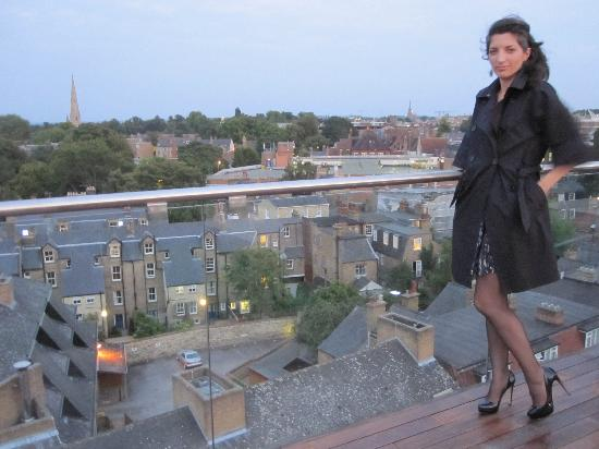 The Varsity Hotel & Spa : view