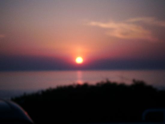 Corbiere Phare : evening sunset