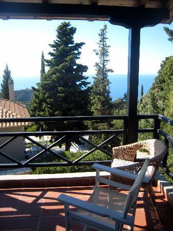 Idilli Villas Lefkada: Balcony