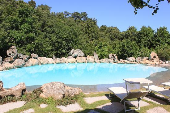 La piccola piscina photo de l 39 agnata di de andr tempio - Piscina interrata piccola ...