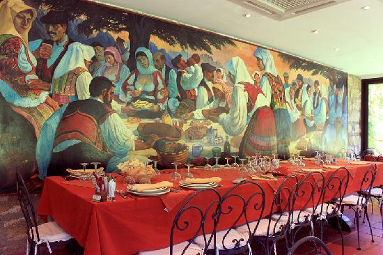 L'Agnata di De André : Uno scorcio della sala principale del ristorante
