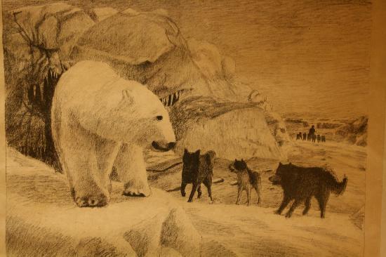 Svalbard Museum: Eisbär
