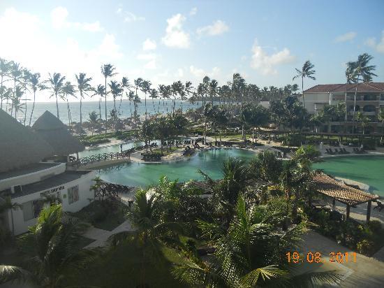 Now Larimar Punta Cana: vista desde la habitación