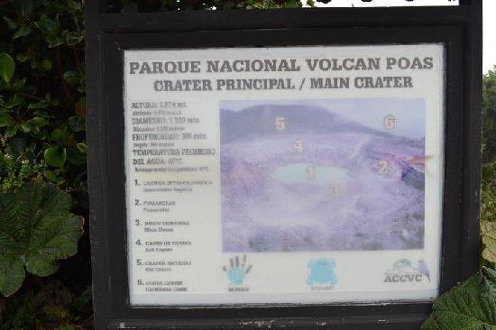 Poas Volcano: San Jose: Volcan Poas