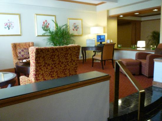 Charlotte Marriott SouthPark : Internent station - free wifi here