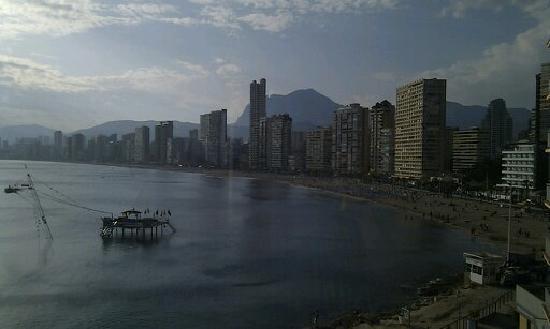 Hotel Benikaktus: ¡Mirad qué vistas!