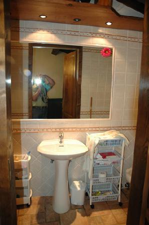 La Marcellina: il bagno della piccola torre