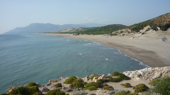 Patara beach, from the headland