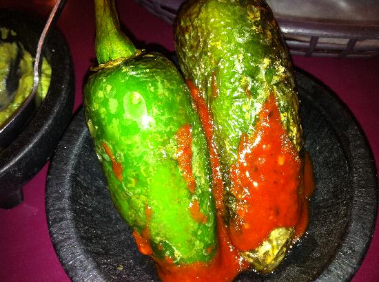 Taqueria Tepatitlan: Two big tasteless jalapenos that I ordered.  Weren't good.