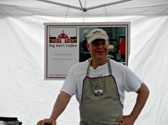 Damariscotta Farmer's Market: Friendly Folks!