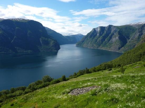 Aurland Municipality, Noruega: Aurlandsfjord