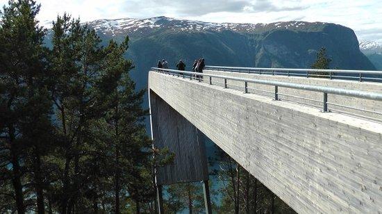 Aurland Municipality, Norge: Aussichtsplattform Stegastein