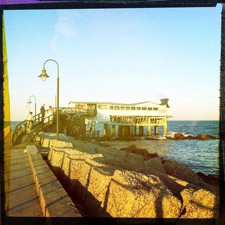 Casal Borsetti, Włochy: La suggestiva location del ristorante Giume'