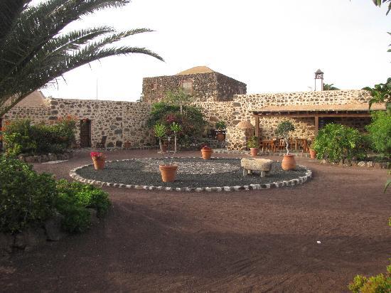 Villaverde, Spanyol: cortile interno e patio per la colazione