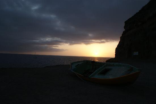 Hotel Cordial Mogan Playa: tramonto