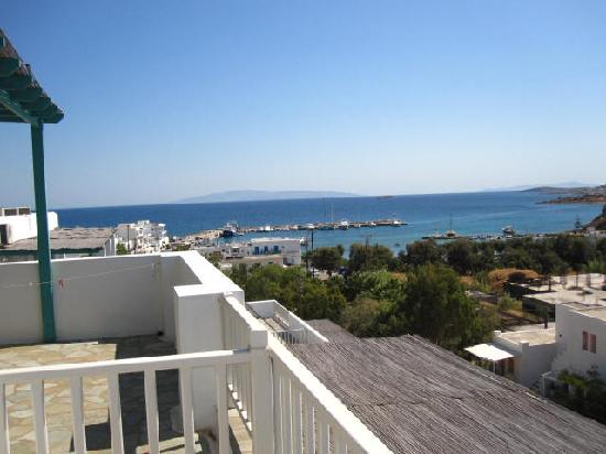 Aloni Hotel : The view from the balcony