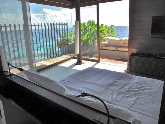 Park Hyatt Maldives Hadahaa: Water Villa - Bedroom