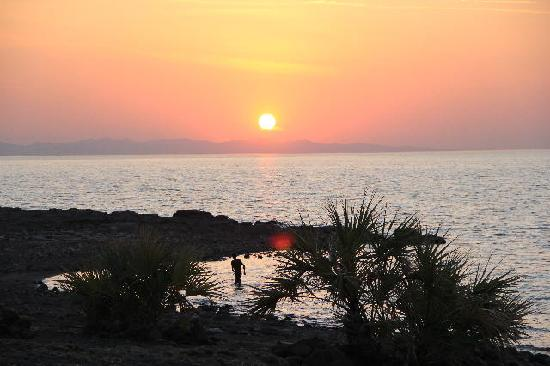 Turkana District, Κένυα: sunset over Lake Turkana