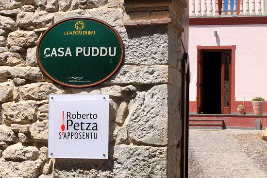 Siddi, Italie : L'ingresso