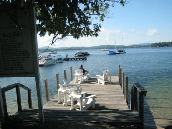 The Wolfeboro Inn: View from Inn's dock