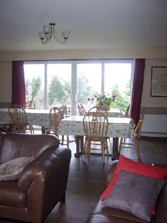 Hazelwood Bed and Breakfast: Our breakfast room overlooking Kenmare Bay