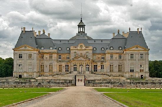 Château de Vaux-le-Vicomte : Front view
