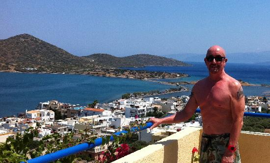 Elounda Heights Apartments and Studios: the view from Artemis studio