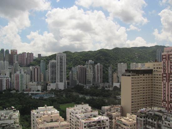 โรงแรมเอ็กซ์เซลซิเออร์: View from our window