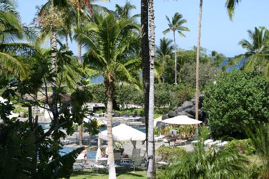 Hawaii Calls Restaurant & Lounge: view from table