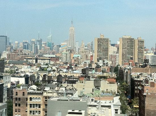 โรงแรมเชอราตันทรีเบกา นิวยอร์ก: view from hotel room!