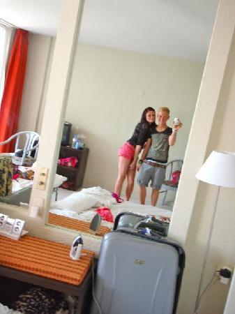 Hotel Ocean Ponderosa: The big and spacious rooms