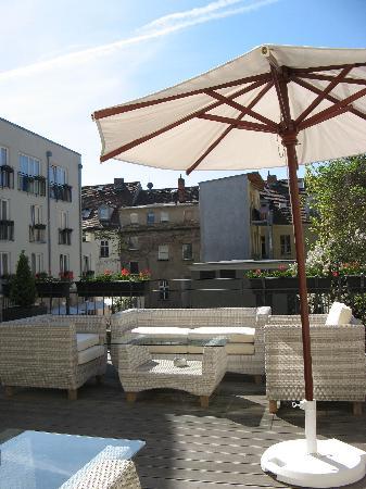 Hotel Brandenburger Tor Potsdam: Terrace