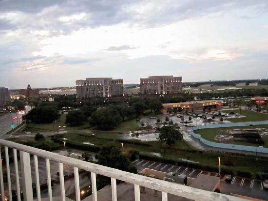 Hilton Tampa Airport Westshore: balcony view