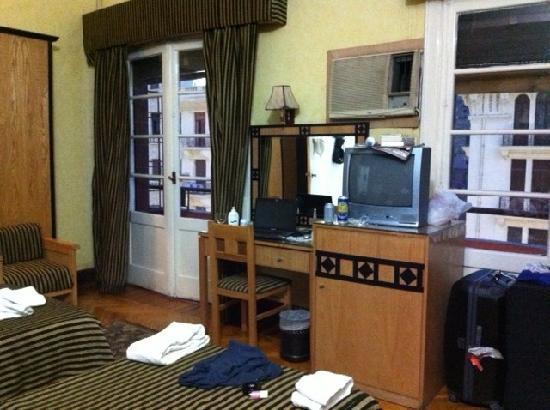 Grand Hotel: mein Zimmer