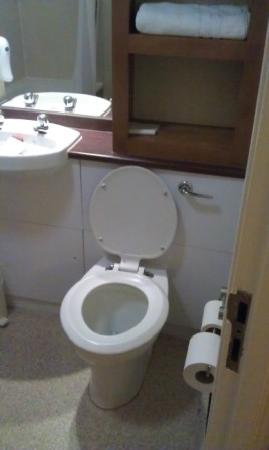 Premier Inn Nottingham City Centre (Goldsmith Street) Hotel: Toilet