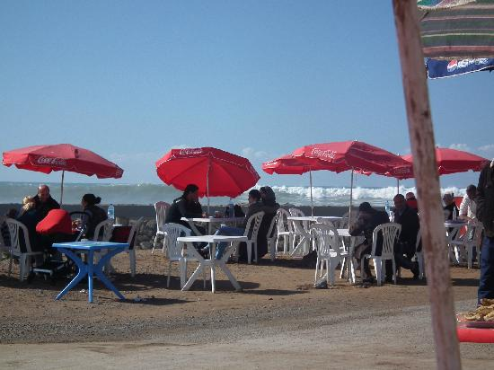 Rabat, Maroko: at the fishermans market in Sale along the ocean