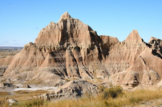 Parque Nacional Badlands, Dakota del Sur: Peak beside visitor center