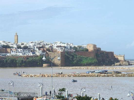 Rabat, Morocco: A view of the Kasbah