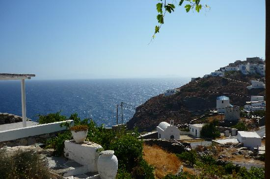 Agnanti: View from our room in Aganti Traditional,Sifnos