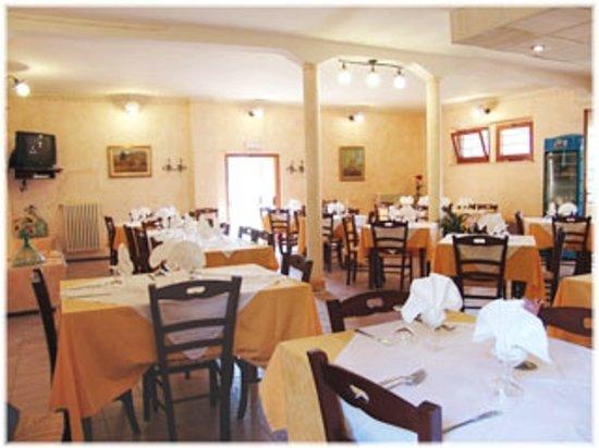 Locanda il Boschetto: La sala ristorante