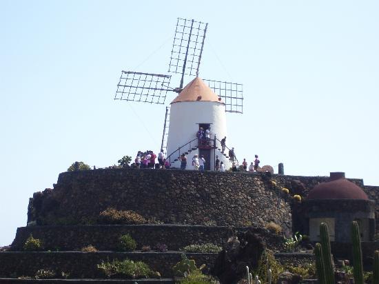 Lanzarote, Espagne : mulino