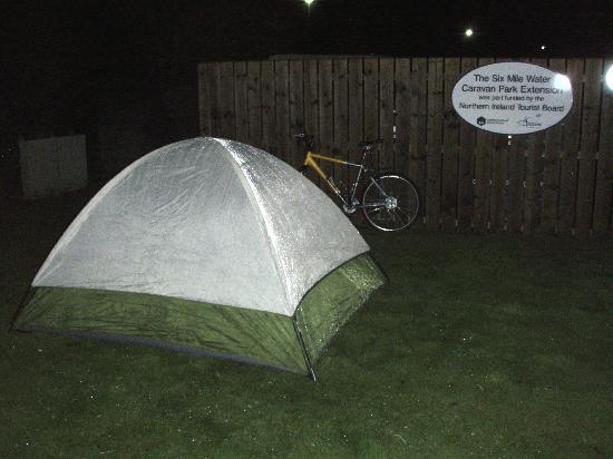 Six Mile Water Caravan Park: Overflow tenting site