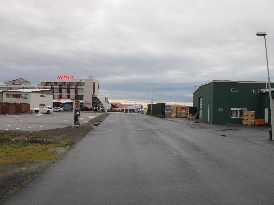 Hotel Keflavik: Hotel im Industriegebiet
