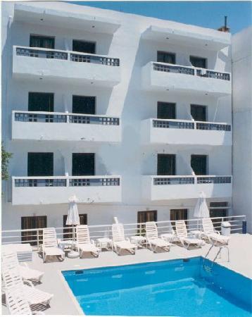 Anna Hotel : Pool side