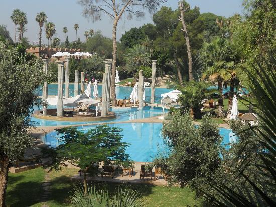 Es Saadi Marrakech Resort - Palace : la piscine