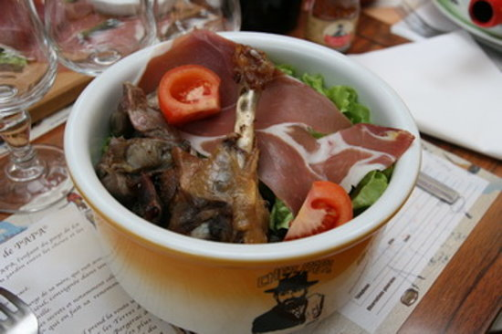 Chez Papa : Ma Salade Gargantuesque !