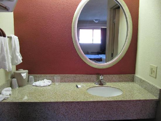Red Roof Inn Buffalo Niagara Airport: Sink/vanity area